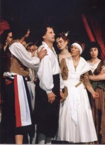 Shakespeare  ROMEO + JULIA @ SpielRAUM, Studiobühne in der VHS